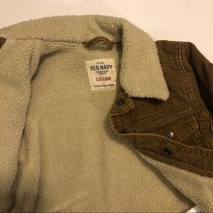 Old Navy Jackets & Coats - Old Navy 12-18M Snap Button Corduroy Jacket